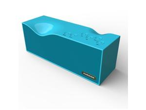 Megadream® Portable Powerful Sound 3.5W * 2 Subwoofer Hand-free Calls Bluetooth 3.0 Speaker Support TF Card / Mic / FM Radio / 3.5 mm Line in / USB for Phones Tablet Laptop Computer Notebook - Blue