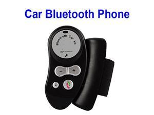 Megadream® Bluetooth Hands-free Steering Wheel Car Kit Speakerphone Speaker MP3 Player FM Transmitter for Apple iPhone 6S Plus 6 5 5S 5C Samsung Galaxy S6 Edge Plus S5 Note 5 4 HTC Nokia Blackberry