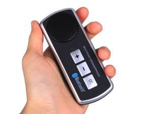 Megadream® New Portable Universal Safe Drive Hands Free Bluetooth Loudspeaker , Multipoint Car Kit Speakerphone for Laptop Notebook Apple iPhone HTC Samsung Sony Nokia Bluetooth Device Black
