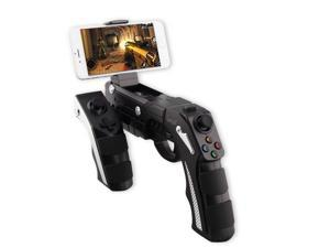 Bluetooth Shooting Gun Gamepad, Megadream® Wireless Gaming Joystick Joypad Controller for Android Samsung Galaxy S6 Edge Plus HTC One Sony Xperia Google Nexus Tablet PC Laptop Computer and TV Box