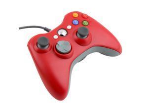 USB Wired Joypad Gamepad Controller For Microsoft Xbox & Slim 360 PC Windows 7 FTF