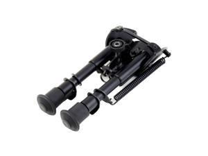 USA STOCK 6''-9'' Bipod Fore Grip Shooter Mount TACTICAL Eject Rail Ridge Rock