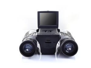 "12x32 HD Black Binoculars Telescope  2.0"" TFT 1080P 5MP LCD Camcorder DV Binocular Folding with Built-in Digital Camera"