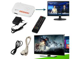 Functional New External LCD TV Box Digital Computer TV Program Receiver`