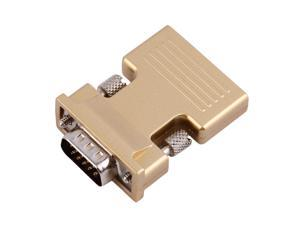 Support 1080P HDMI Female to VGA Male Converter with Audio Adapter  Output