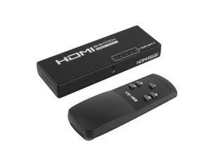5 Port 1 x 5 HDMI Switch Switcher Selector Splitter Hub for HDTV With Remote