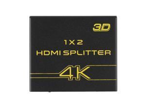 Full HD 1x2 Port HDMI Splitter Amplifier 3D Splitter HDMI Version 1.4a