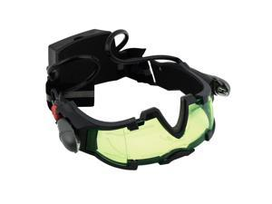 Hot Green Lens Adjustable Elastic Band Night Vision Goggles Glasses eyeshield  FTF