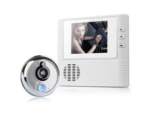 """2.8"""" LCD Digital Peephole Viewer Door Eye Doorbell Video Color IR Camera 806"""