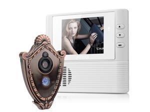 "2.8"" LCD Digital Peephole Viewer Door Eye Doorbell Video Color IR Camera"