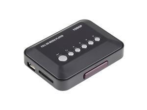 1080P HD USB HDMI Multi TV Media Video Player Box TV video SD MMC RMVB MP3 AU