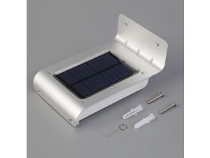 16 LED Solar Power Motion Sensor Security Lamp Outdoor Waterproof Light FTF