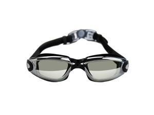 Electroplating Anti-fog Swimming Goggles Water-proof Swim Myopia Glasses