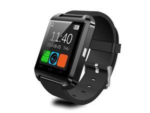 U8 Bluetooth Smart Wrist Watch Phone Mate For Android Samsung HTC black