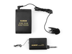 VHF Stage Wireless Lavalier Lapel Headset Microphone System Mic FM Transmitter FF