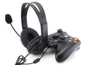 Wired Game Live Gaming Headset Headphone Microphone For 360xbox