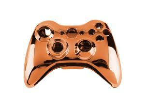 Wireless Controller Shell Case Bumper Thumbsticks Buttons Game for Xbox 360 orange
