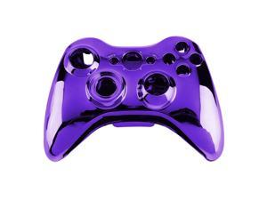 Wireless Controller Shell Case Bumper Thumbsticks Buttons Game for Xbox 360 purple