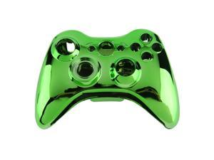 Wireless Controller Shell Case Bumper Thumbsticks Buttons Game for Xbox 360 green