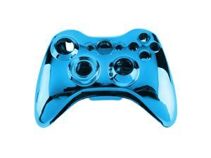 Wireless Controller Shell Case Bumper Thumbsticks Buttons Game for Xbox 360 blue