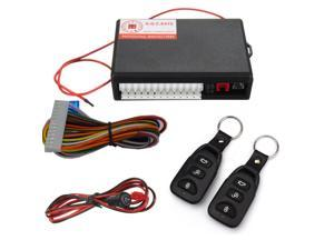 Universal Car Kit Car Remote Central Door Lock Of Vehicle Keyless Entry System With New Controllers A Distance
