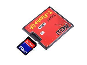 T-Flash to CF type1 Compact Flash Memory Card UDMA Adapter Up to 64GB Drop Shipping Wholesale