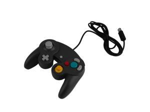 Plastic Sensitive Wired USB Game Controller Pad Joystick for Nintendo Game or for Wii Professional Gaming Gamer Controller black