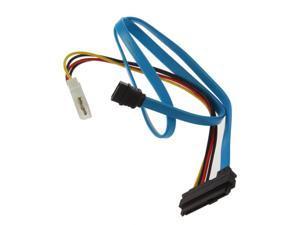 7 Pin SATA Serial ATA to SAS 29 Pin & 4 Pin Cable Male Connector Adapter