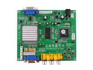 NEW Arcade Game RGB/CGA/EGA/YUV to VGA HD Video Converter Board HD9800/GBS8200