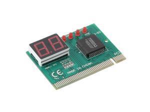 PCI PC Diagnostic 2-Digit Card Motherboard Post Tester Analyzer Checker Laptop FF