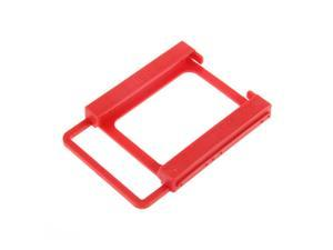 2.5 to 3.5 SSD HDD Notebook Hard Disk Drive Mounting Bracket Adapter Holder  red