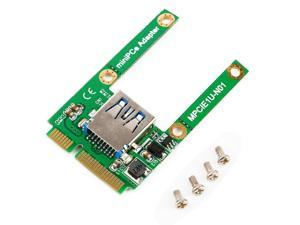 Mini PCI-E Card Slot Expansion to USB 2.0 Interface Adapter Riser Card