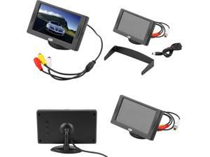 "4.3"" TFT LCD Car Monitor Reverse Rearview Color Camera DVD VCR CCTV"