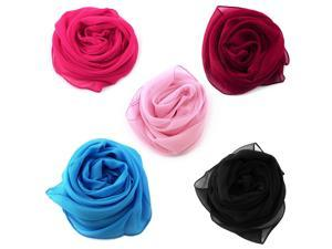 New Women Girl Fashion Chiffon Long Soft Wrap Shawl Beach Scarf Classic Scarf