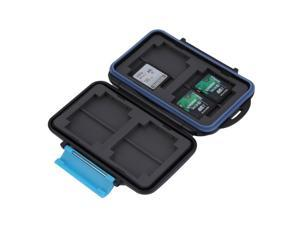 Memory Card Case Holder for 8 x SD SDHC Cards MC-SD8 Waterproof Anti-shock