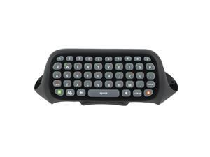 Wireless Controller Messenger Game Keyboard Keypad ChatPad For XBOX 360 Black