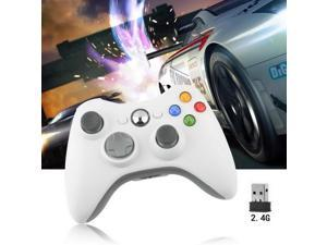 Wireless Shock Game Controller For Microsoft xBox 360 xBox360 white New HOT