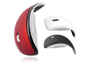 Folding 2.4G 3 Buttons 1000 DPI Bluetooth Wireless Touch Optical Mouse