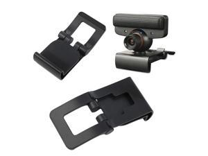 New Black TV Clip for Sony PS3 Move Eye Camera Mount Holder Stand Adjustable