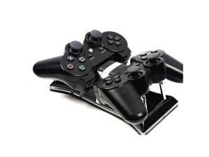 Dual USB Charging Station Dock For PS3 Wireless Controller Gamepad