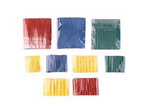 260pcs 8 Size 2:1 Heat Shrink Tubing Tube Sleeving Wrap Wire Cable Kit
