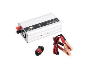 DC 12V to AC 220V Portable Car Power Inverter Charger Converter 1200W WATT