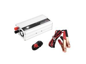 DC 12V to AC 110V Portable Car Power Inverter Charger Converter 1000W WATT