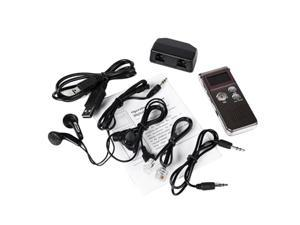 Voice Activated 8 GB USB LCD Pen Digital Voice Recorder Dictaphone MP3