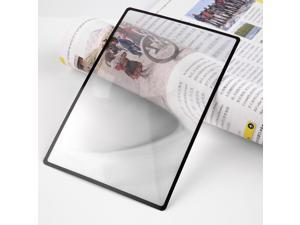 3X PVC Magnifier Sheet 180X120mm Book Page Magnifying Reading Glass Lens
