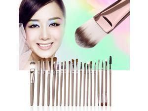 New set of 20 Professional pieces brushes pack complete make-up brushes