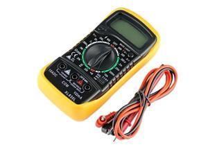 New Digital Multimeter XL830L Volt Meter Ammeter Ohmmeter Yellow Tester