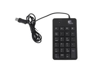 Mini 23-Keys USB Number Pad Keypad Numeric Keyboard For Laptop Notebook