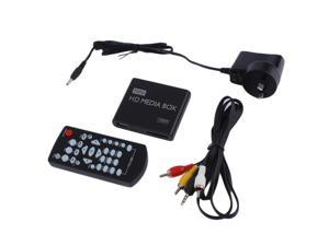 Mini Full 1080p HD Media Player Box MPEG/MKV/H.264 HDMI AV USB + Remote Black  AU