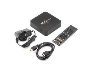MXQ Pro TV Box S905 Android 5.1 Quad Core 1G/8G H.265 WIFI 4K 1080P NEW BlackUK